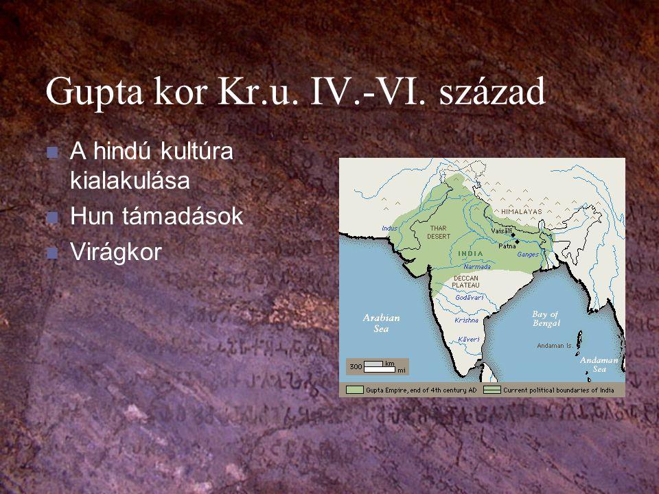 Gupta kor Kr.u. IV.-VI. század