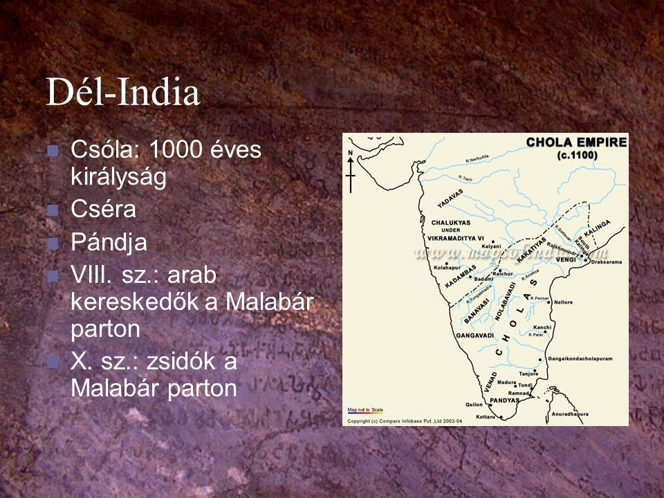 Dél-India Csóla: 1000 éves királyság Cséra Pándja