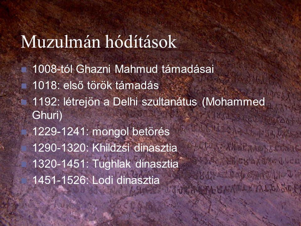 Muzulmán hódítások 1008-tól Ghazni Mahmud támadásai