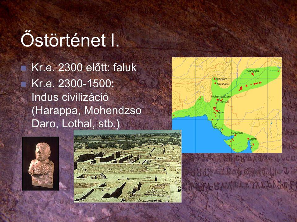 Őstörténet I. Kr.e. 2300 előtt: faluk