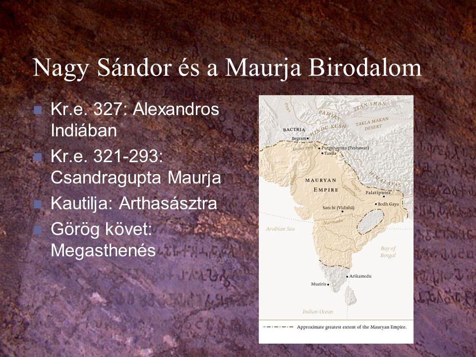 Nagy Sándor és a Maurja Birodalom