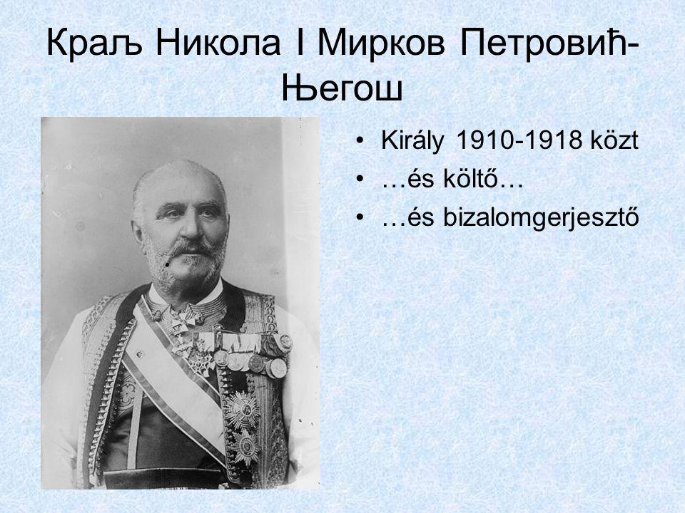 Краљ Никола I Мирков Петровић-Његош