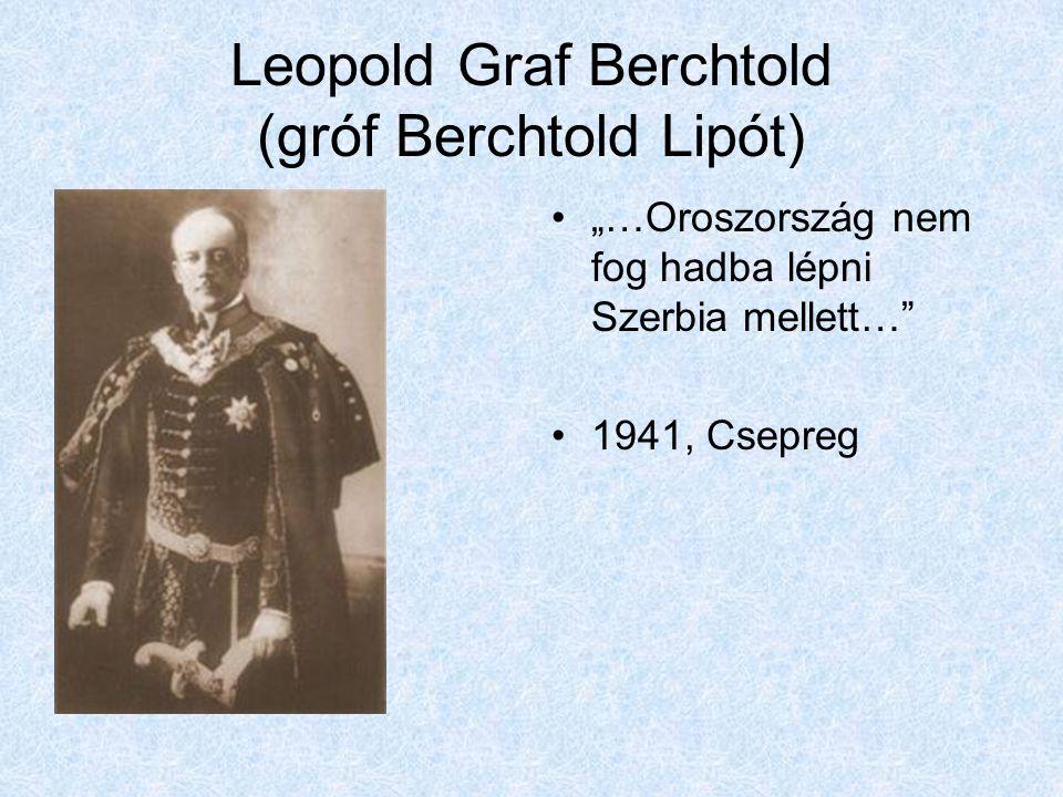 Leopold Graf Berchtold (gróf Berchtold Lipót)