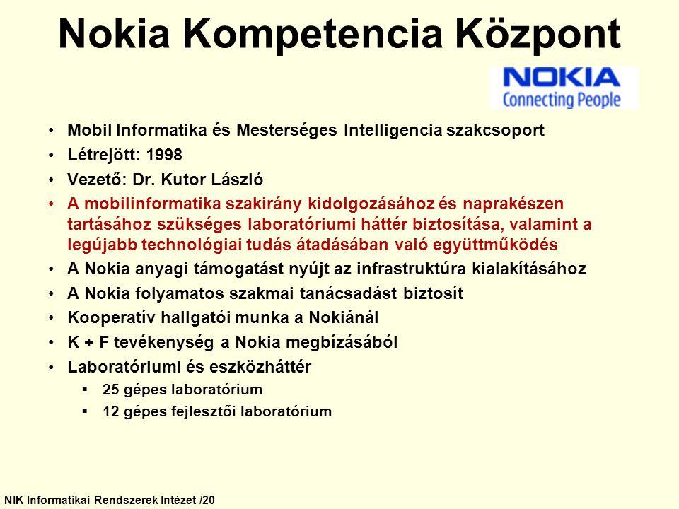 Nokia Kompetencia Központ