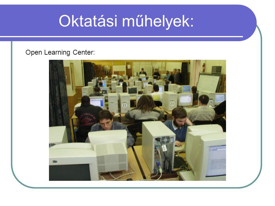 Oktatási műhelyek: Open Learning Center: