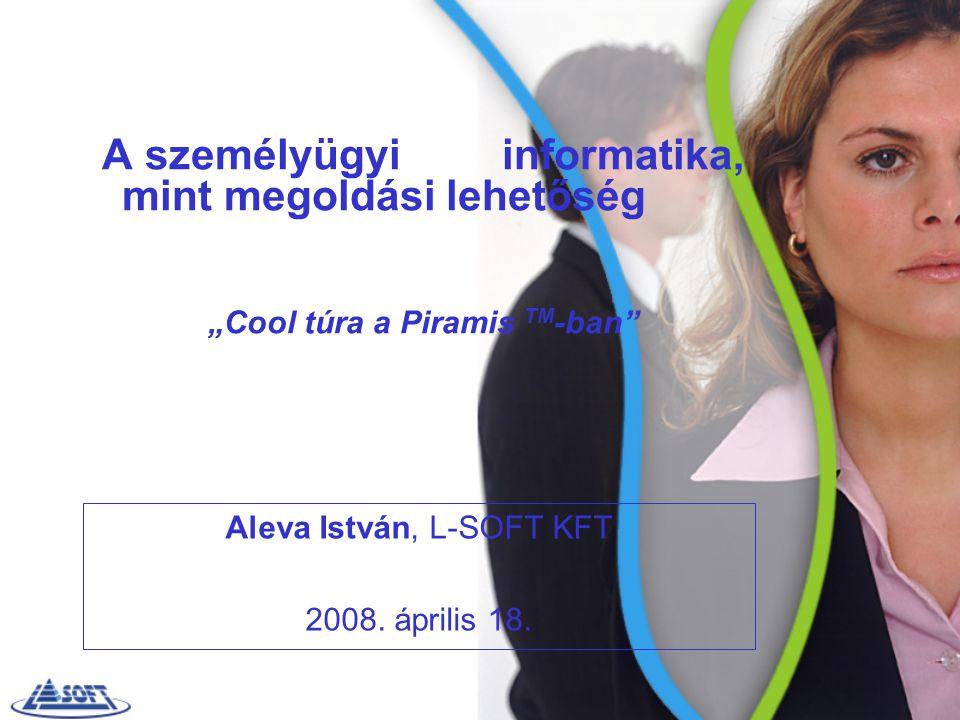 Aleva István, L-SOFT KFT 2008. április 18.