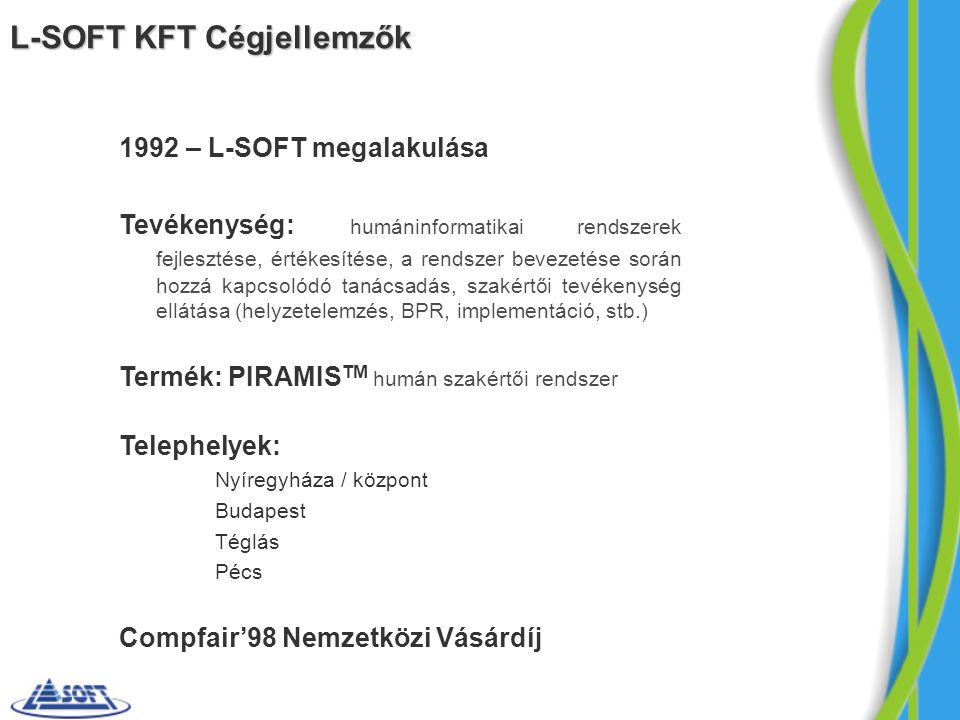 L-SOFT KFT Cégjellemzők