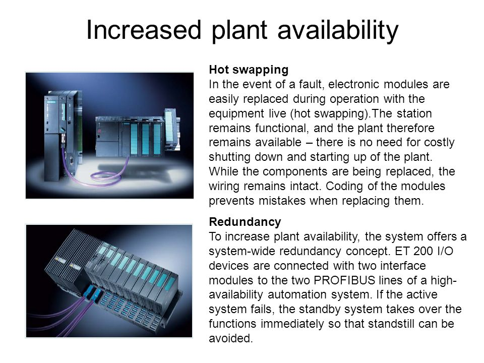 Increased plant availability