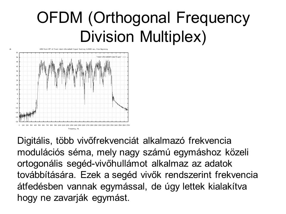 OFDM (Orthogonal Frequency Division Multiplex)