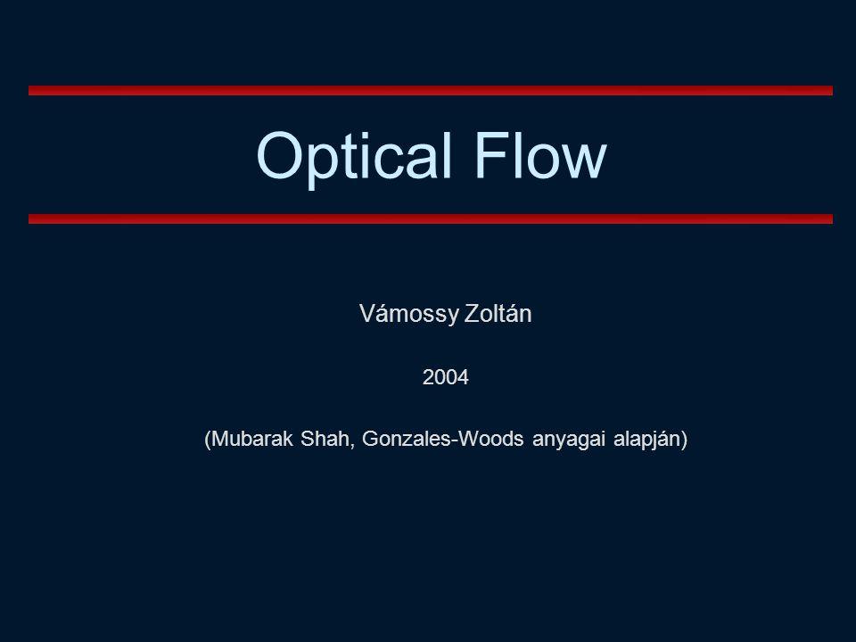 Vámossy Zoltán 2004 (Mubarak Shah, Gonzales-Woods anyagai alapján)