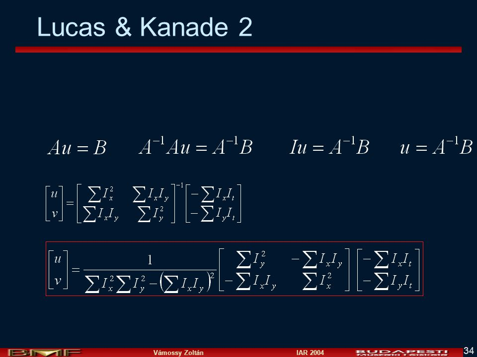 Lucas & Kanade 2