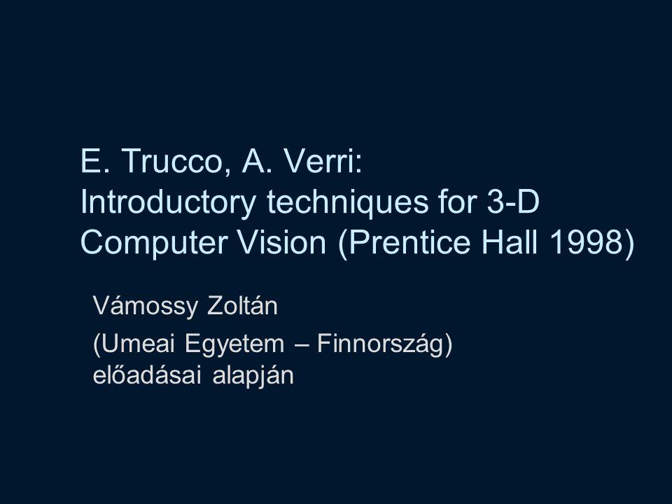 Vámossy Zoltán (Umeai Egyetem – Finnország) előadásai alapján
