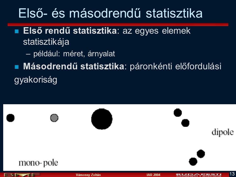 Első- és másodrendű statisztika