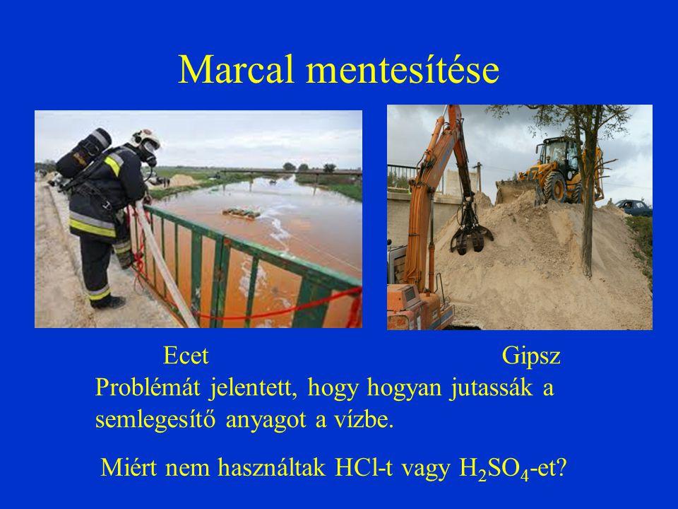 Marcal mentesítése Problémát jelentett, hogy hogyan jutassák a