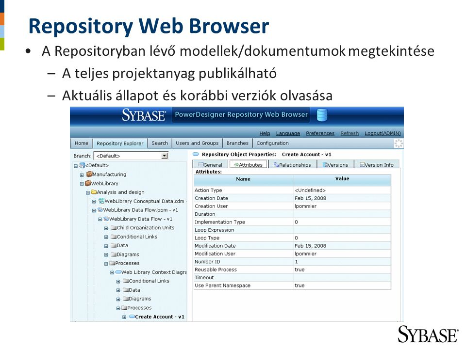 Repository Web Browser