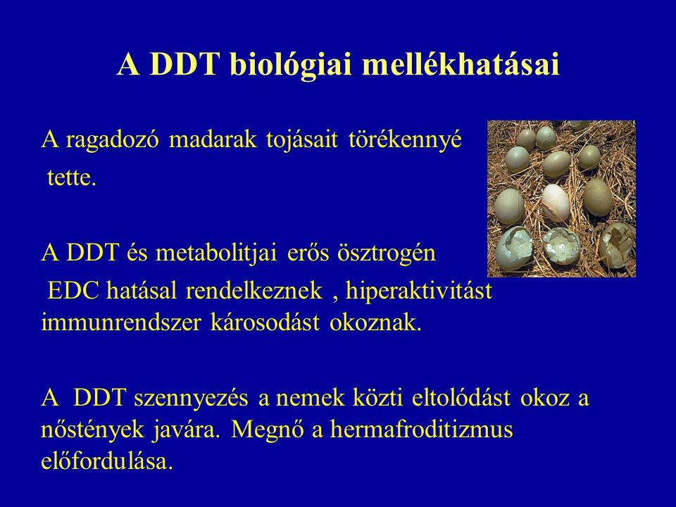 A DDT biológiai mellékhatásai