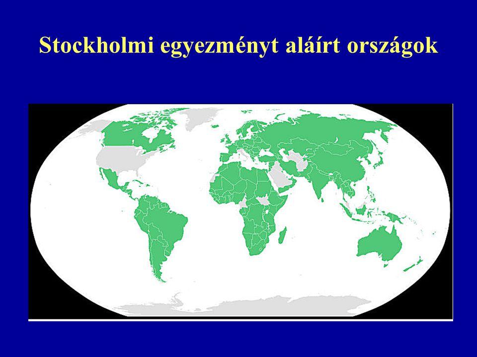 Stockholmi egyezményt aláírt országok