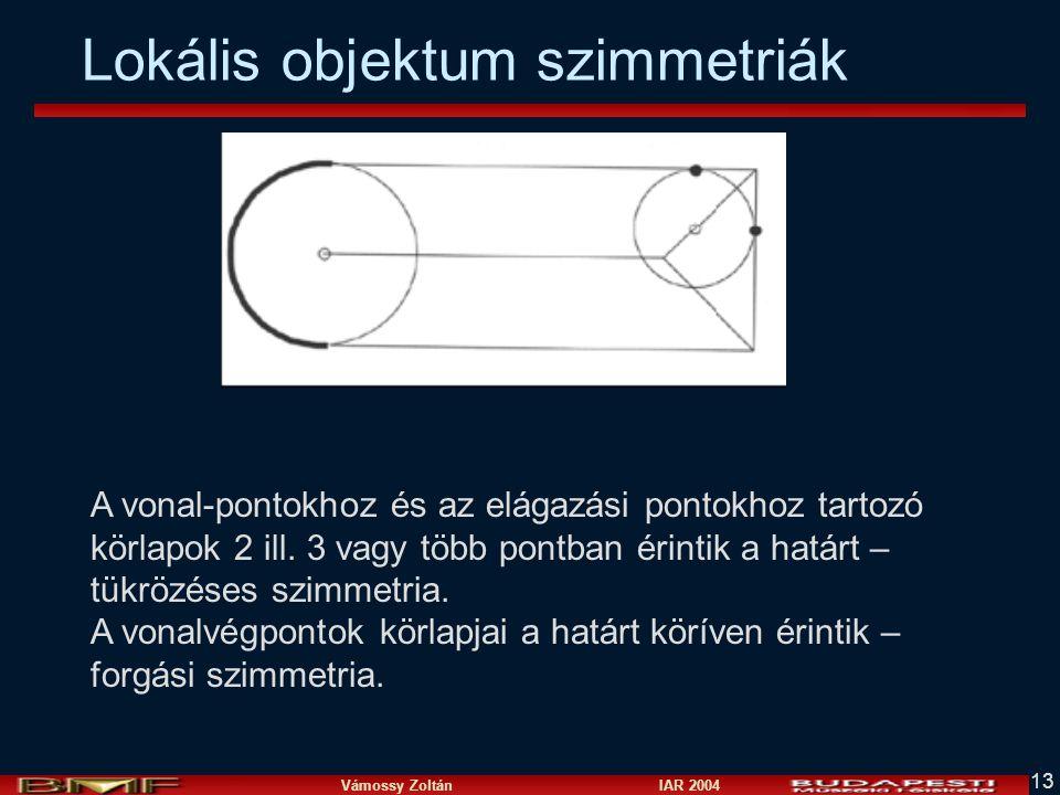 Lokális objektum szimmetriák