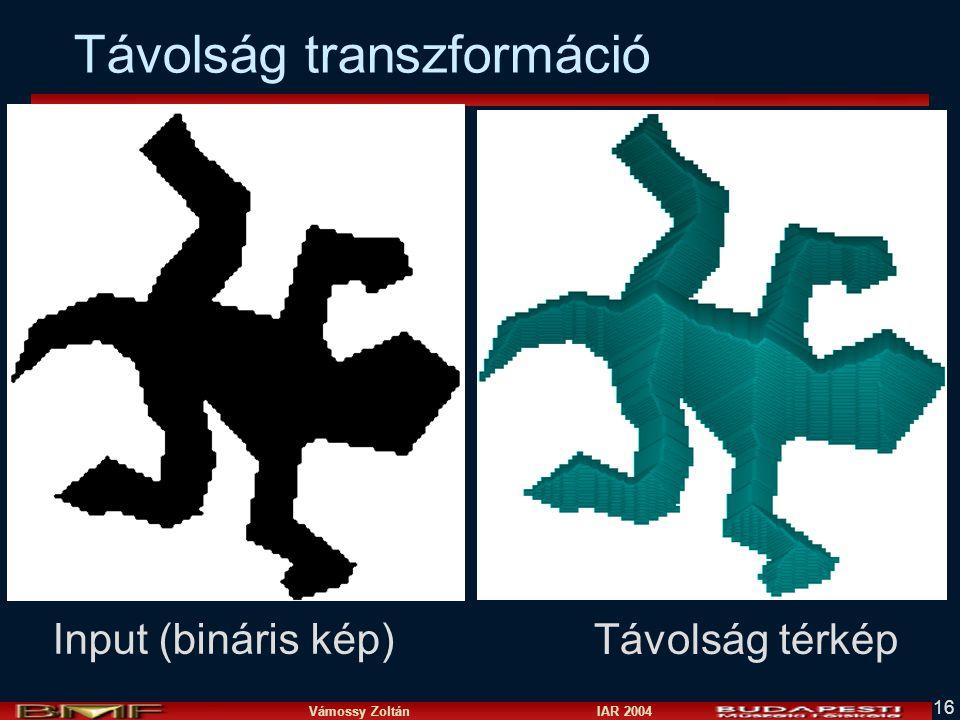 Távolság transzformáció