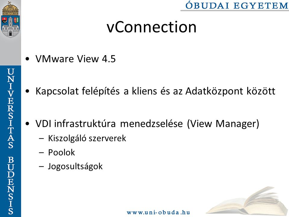 vConnection VMware View 4.5