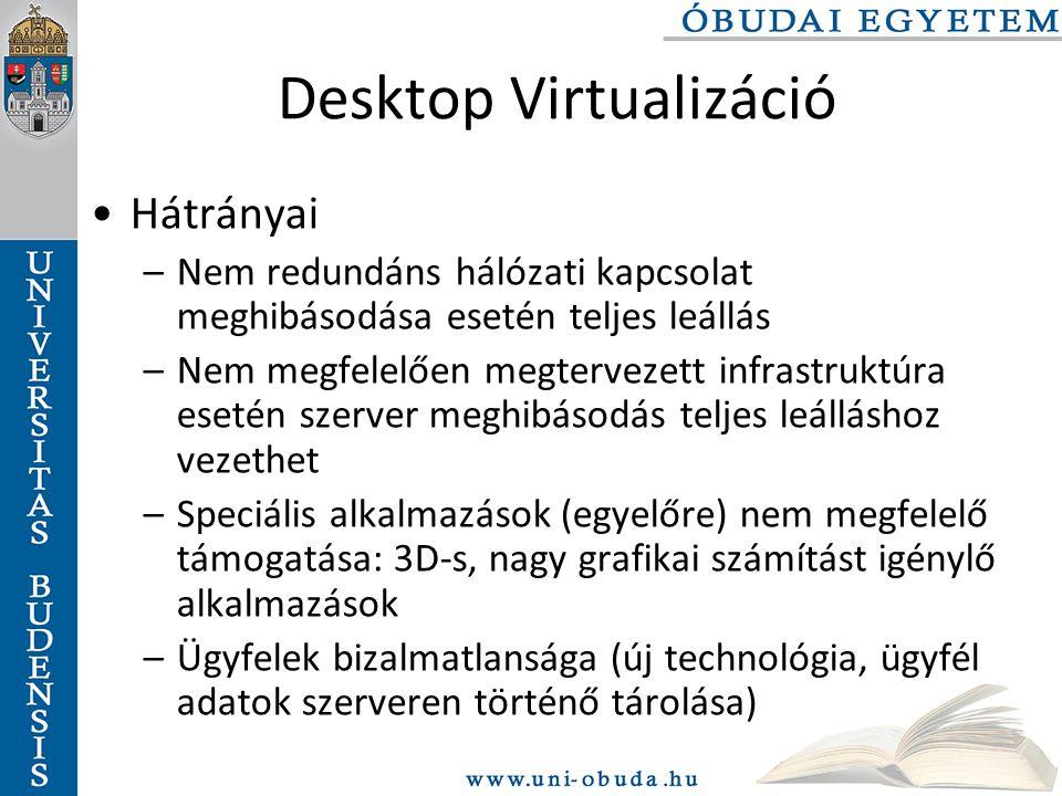 Desktop Virtualizáció
