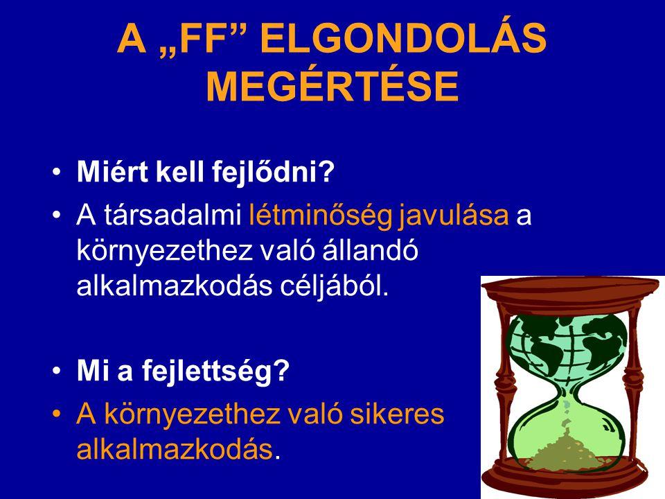 """A """"FF ELGONDOLÁS MEGÉRTÉSE"""