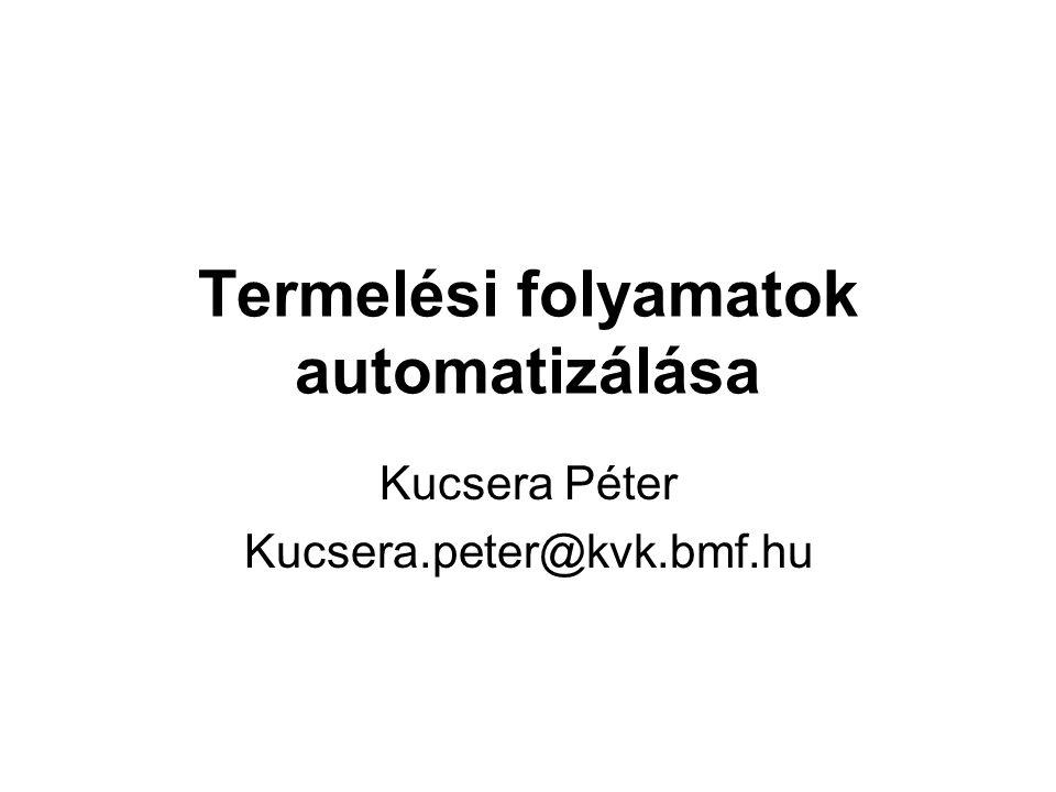 Termelési folyamatok automatizálása