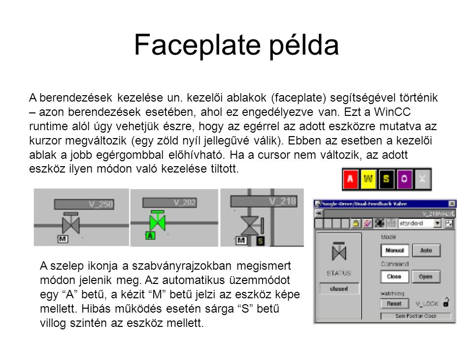 Faceplate példa