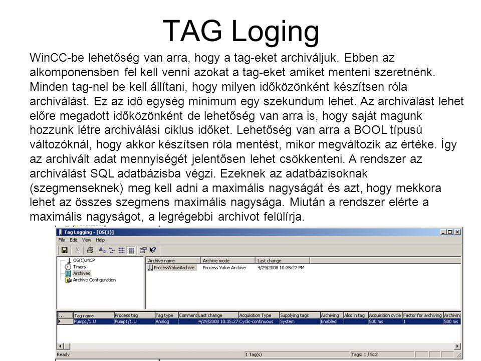 TAG Loging
