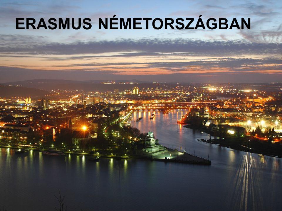 ERASMUS NÉMETORSZÁGBAN