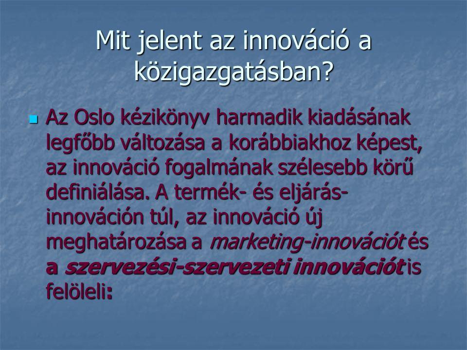 Mit jelent az innováció a közigazgatásban