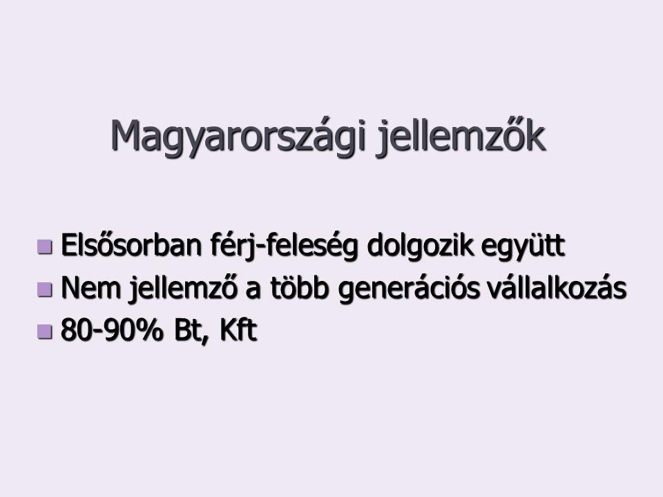 Magyarországi jellemzők