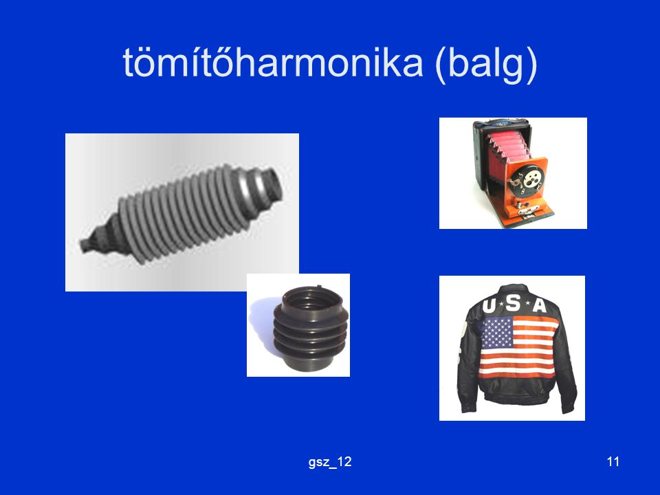 tömítőharmonika (balg)