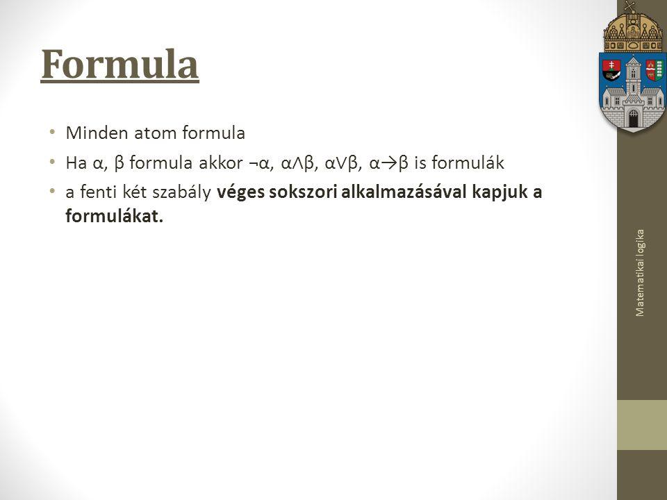 Formula Minden atom formula