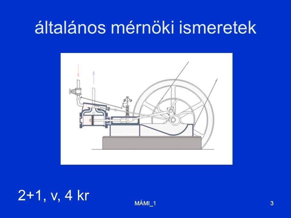általános mérnöki ismeretek