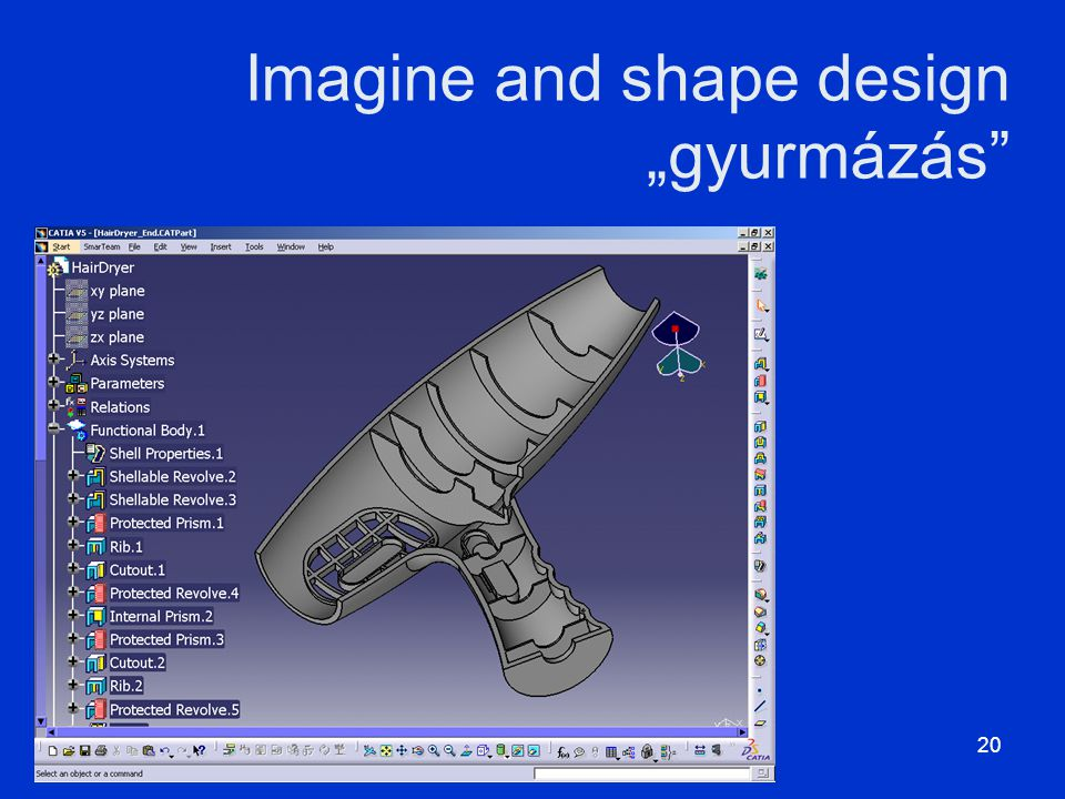 "Imagine and shape design ""gyurmázás"