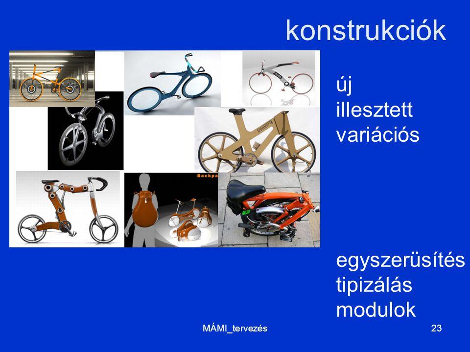 konstrukciók új illesztett variációs egyszerüsítés tipizálás modulok