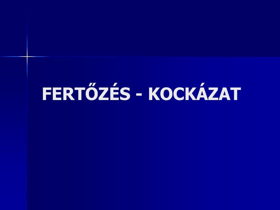 FERTŐZÉS - KOCKÁZAT