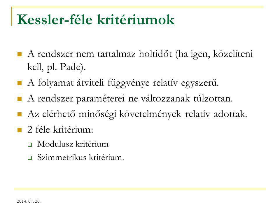 Kessler-féle kritériumok
