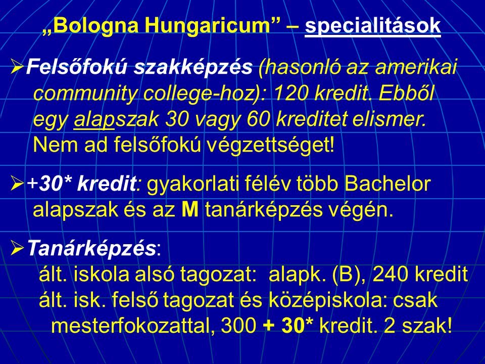 """""""Bologna Hungaricum – specialitások"""