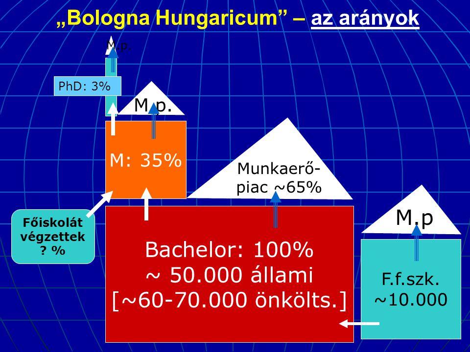 """Bologna Hungaricum – az arányok"