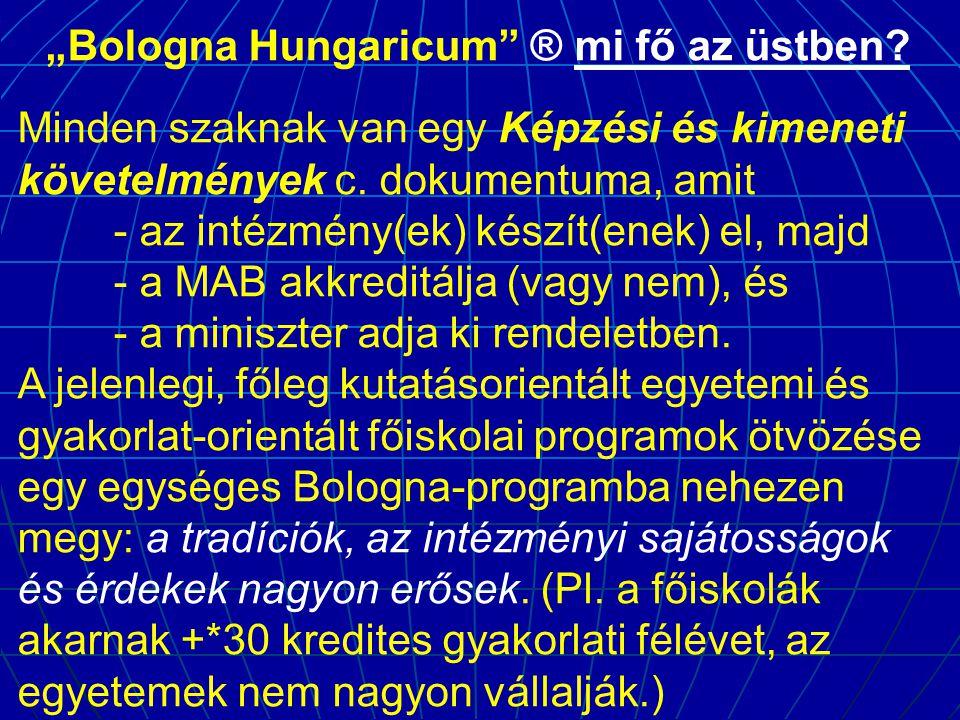 """""""Bologna Hungaricum ® mi fő az üstben"""