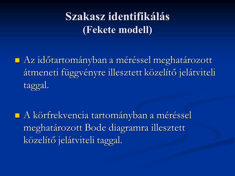 Szakasz identifikálás (Fekete modell)