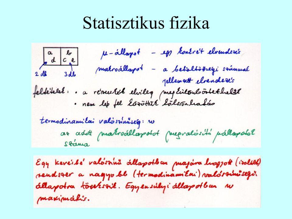 Statisztikus fizika