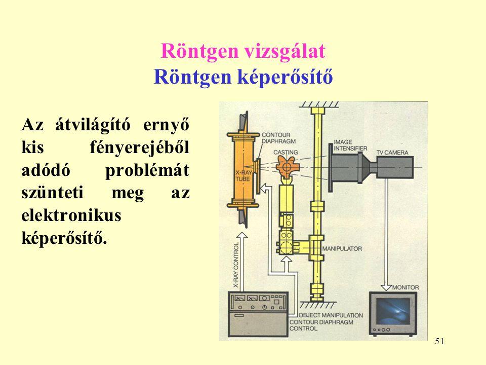 Röntgen vizsgálat Röntgen képerősítő