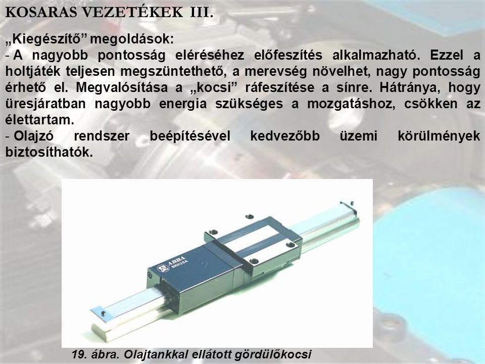 """KOSARAS VEZETÉKEK III. """"Kiegészítő megoldások:"""