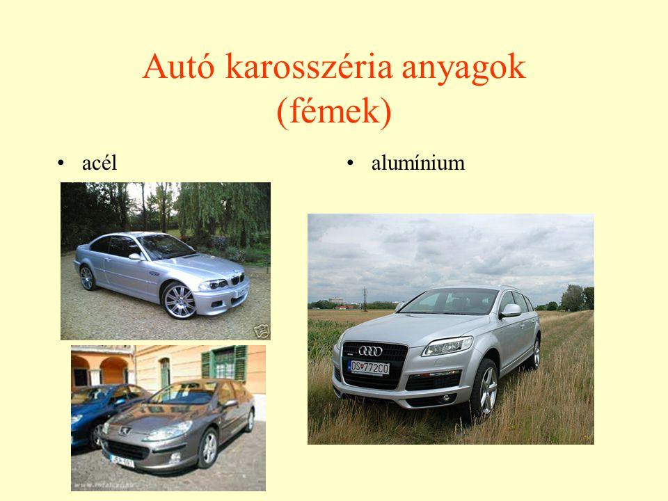 Autó karosszéria anyagok (fémek)