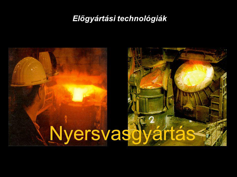 Előgyártási technológiák