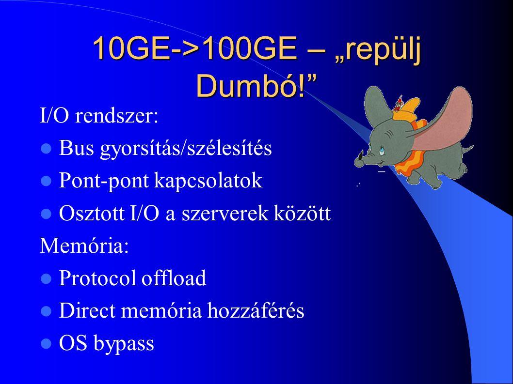 "10GE->100GE – ""repülj Dumbó!"