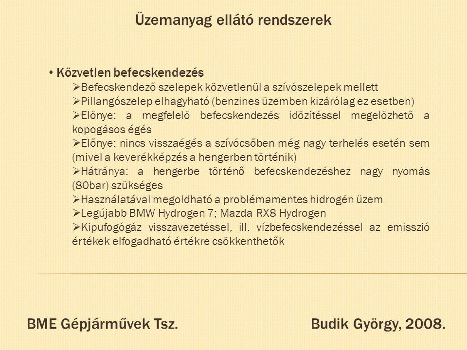 BME Gépjárművek Tsz. Budik György, 2008.